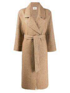 Jovonna Haku robe coat - NEUTRALS