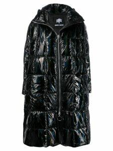 Ienki Ienki oversized zipped coat - Black