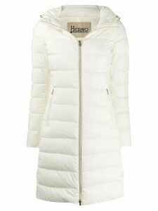 Herno hooded down coat - NEUTRALS