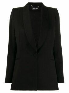 Styland shawl lapel blazer - Black