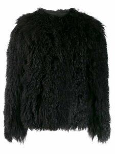 Isaac Sellam Experience Magnolie fur coat - Black