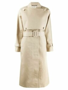 Ports 1961 belted trench coat - NEUTRALS