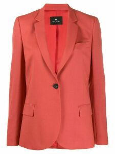 PS Paul Smith single breasted blazer - Red