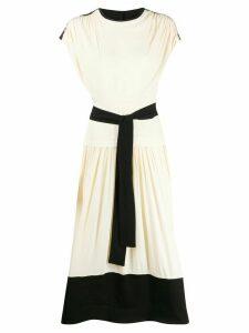 Proenza Schouler belted T-shirt dress - White