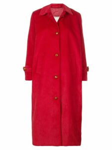 Giuliva Heritage Collection Maria corduroy coat - Red