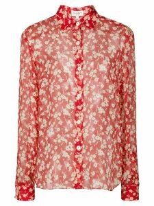 HVN Cristina silk blouse - Red
