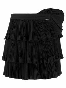 LIU JO ruffled pleated skirt - Black
