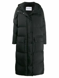 Stand Studio padded oversized coat - Black