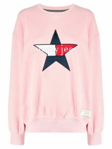 Tommy Jeans star logo sweatshirt - PINK