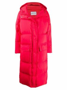 STAND STUDIO padded oversized coat - Red