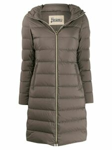 Herno hooded down coat - Grey