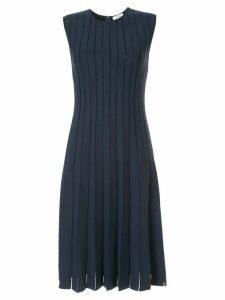 Casasola pleated stretch-knit dress - Blue