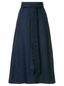 Tibi denim wrap skirt - Blue