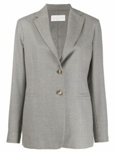 Fabiana Filippi fitted single-breasted blazer - Grey