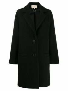 Vanessa Bruno oversized single-breasted coat - Black