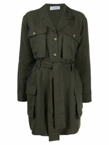 ANINE BING belted trench coat - Green