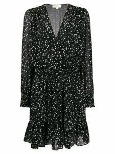 Michael Michael Kors dotted print dress - Black