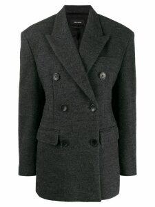 Isabel Marant oversized double breasted blazer - Green