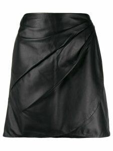 Vanessa Bruno wrap style skirt - Black
