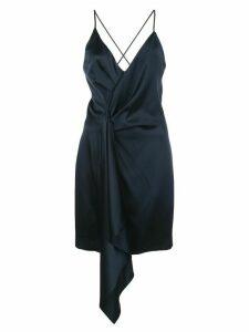 Cushnie tie knot dress - Blue