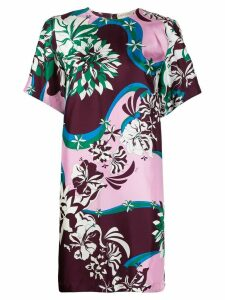 Emilio Pucci floral print shift dress - Green