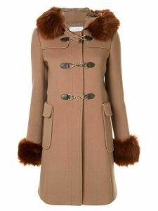 Loveless hooded parka coat - Brown