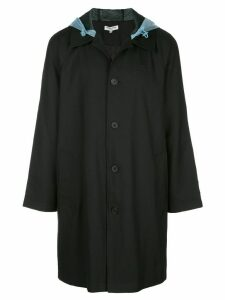 Opening Ceremony hooded trench coat - Black