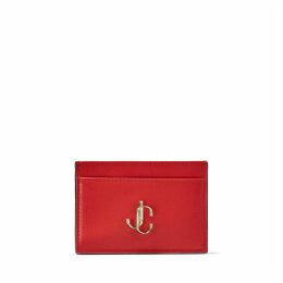 UMIKA Royal Red Calf Leather Card Holder
