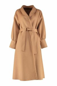 LAutre Chose Belted Wool Cloth Coat