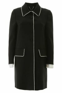 Miu Miu Crystal-embellished Coat
