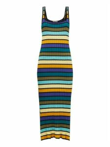 Solid & Striped - Striped Knit Dress - Womens - Multi Stripe