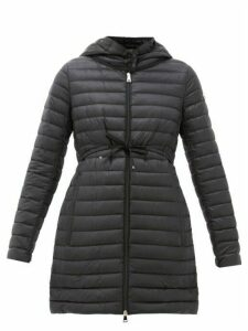 Moncler - Lightweight Down-filled Shell Coat - Womens - Black