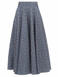 Max Mara - Sansa Skirt - Womens - Blue White