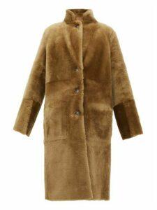 Joseph - Britanny Reversible Shearling Coat - Womens - Beige