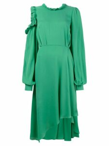 Magda Butrym Calgiari ruffle open back asymmetric dress - Green