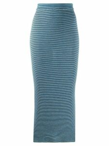 Marni knitted pencil skirt - Blue