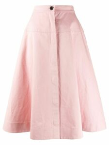 Marni high-waist a-line skirt - PINK