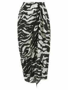 Isabel Marant Fabiana gathered skirt - Black