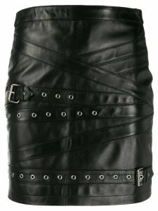 Manokhi double buckle skirt - Black