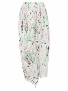 Isabel Marant Fabiana gathered skirt - White