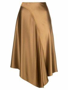 Sies Marjan Darby asymmetric skirt - GOLD