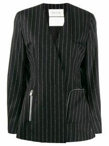 1017 ALYX 9SM script stripe blazer - Black