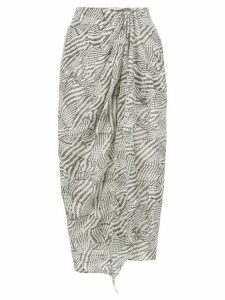 Isabel Marant Fabiana gathered skirt - Grey