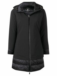 Save The Duck padded hooded coat - Black