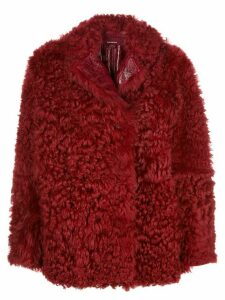 Sies Marjan Pippa reversible shearling coat - Red