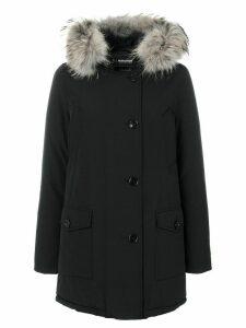 Woolrich hooded parka - Black