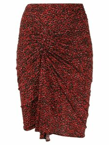 Isabel Marant Jominy skirt - Red