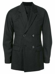 Namacheko oversized double breasted blazer - Black