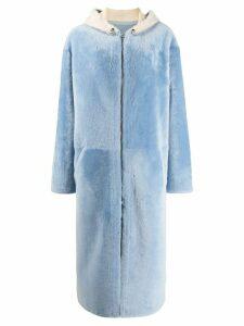 Liska long coat - Blue