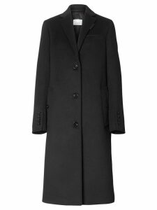 Burberry tailored single-breasted coat - Black